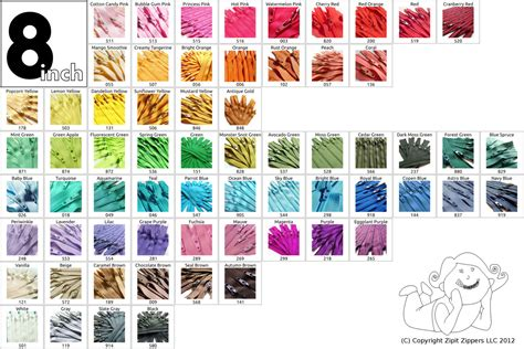 what color matches with pink and blue 8 inch zippers 10 pieces ykk mix and match choose from 65