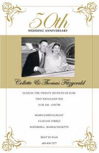 50th wedding anniversary templates annagraham design 50th anniversary