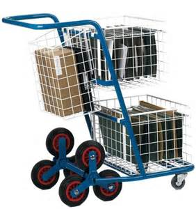 Stairs Trolley by Post Distribution Stair Climber Trolley