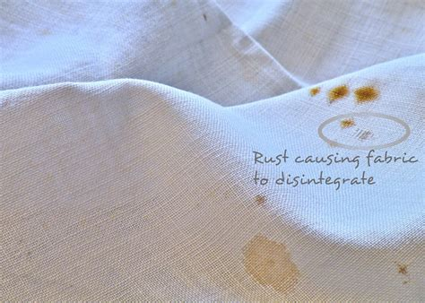 diy how to get rid of rust stains from clothes great