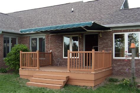pictures of decks casual cottage
