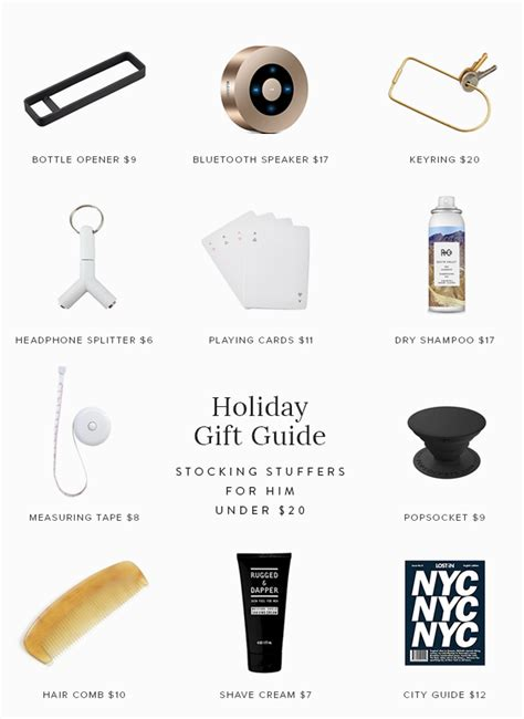 affordable holiday gift guide for her just a trace holiday gift guide stocking stuffers for him and her