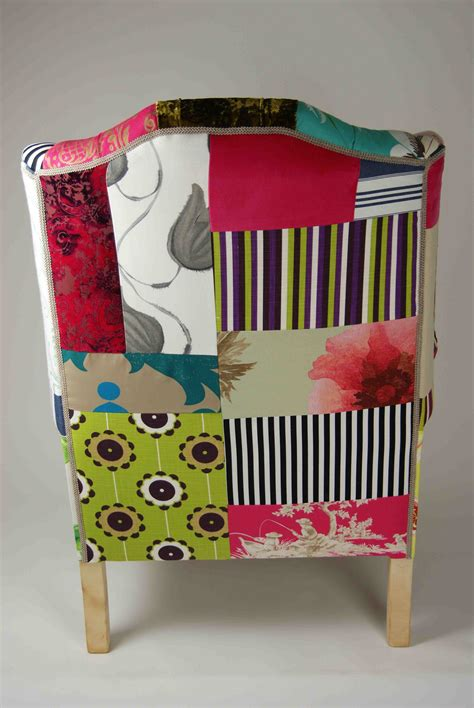 Patchwork Covered Chairs - nonsense sensibility summer loving patchwork chairs