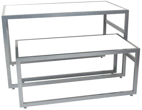 white nesting tables retail furniture w contemporary design