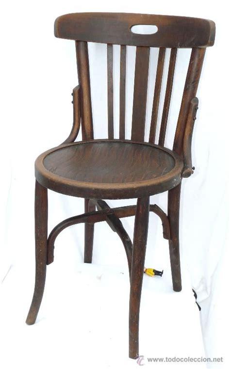 silla antigua silla antigua en madera curva de principios del siglo xx