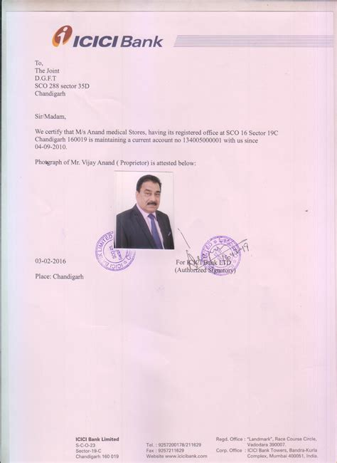 bank certificate sle of bank certificate for iec image collections