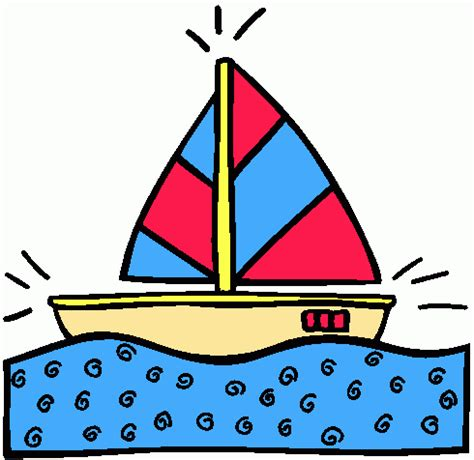boat clipart gif un petit bateau