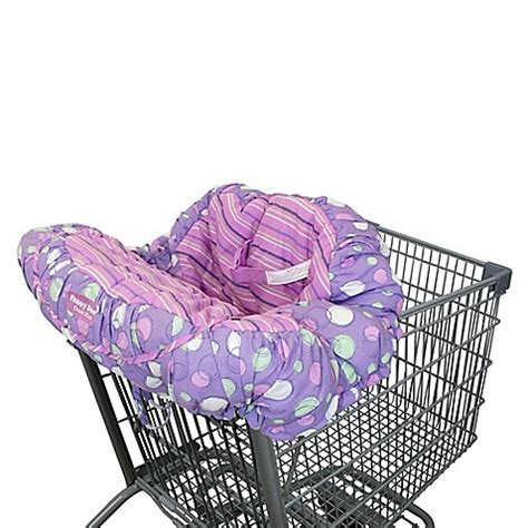 shopping cart seat cover canada floppy seat 174 shopping cart cover in purple bed bath beyond