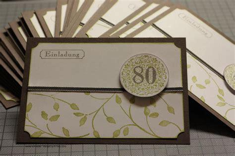 Karten Zum Selber Drucken by Einladungskarten Zum 80 Geburtstag Kostenlos Zum