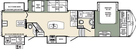 columbus rv floor plans 2017 forest river columbus compass 385bhc cing world