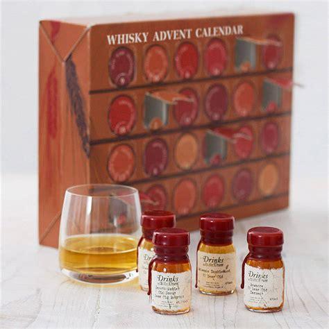 Whisky Advent Calendar Concept Top Food Lab