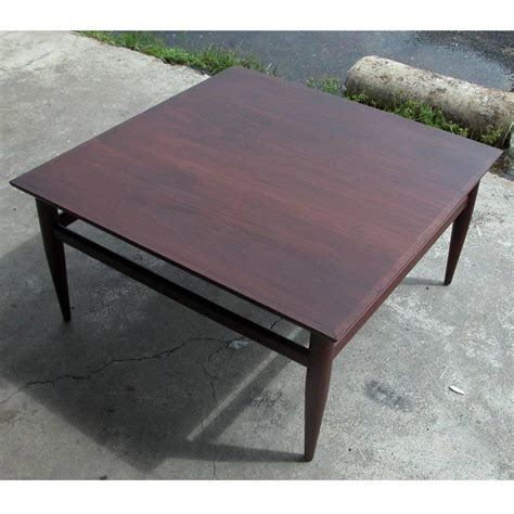 vintage mid century henredon heritage coffee table for