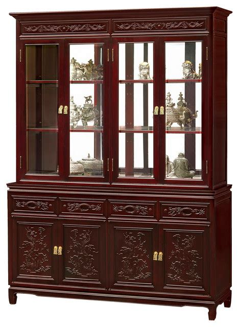 Furniture China by Rosewood China Cabinet Bar Cabinet