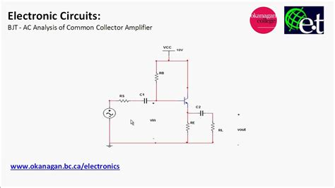 fet transistor ac analysis common collector lifier