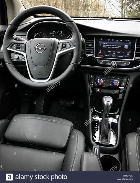 opel mokka interior opel mokka interior stock photo royalty free image