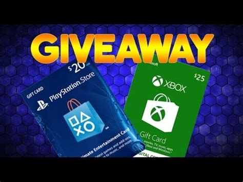 Psn Gift Card Giveaway - psn xbox gift card christmas giveaway closed youtube