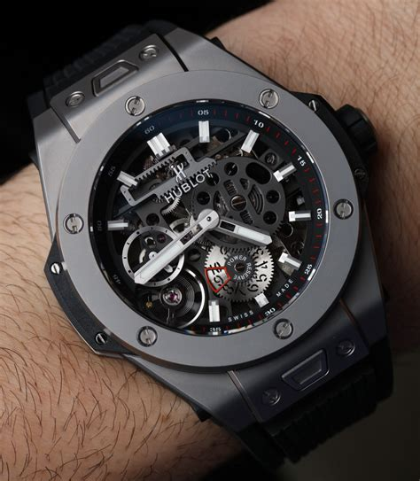 Counter Jam Tangan Hublot hublot big meca 10 on ablogtowatch