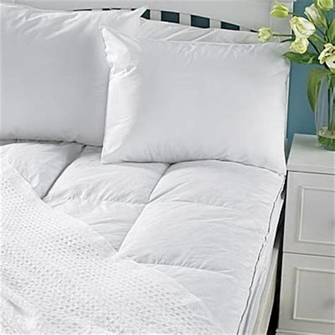 allergy luxe comforter pacific coast luxe loft feather bed mattress topper