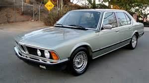 Bmw E23 Bmw E23 735il Model Bumper 5 Speed Classic