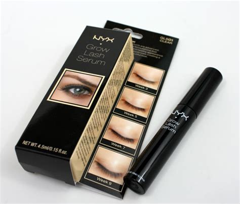 Serum Nyx how do your lashes grow with nyx grow lash serum