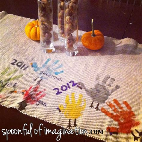 things to do at thanksgiving table sentimental thanksgiving table runner kid