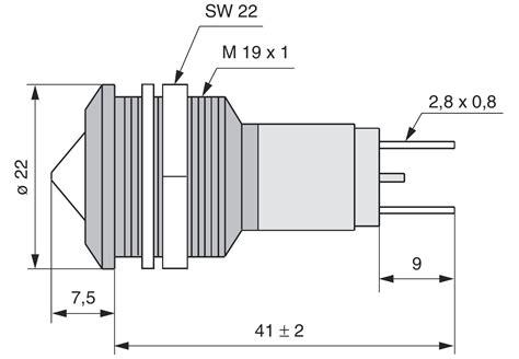 preiswerte led len led signalleuchte metallreflektor