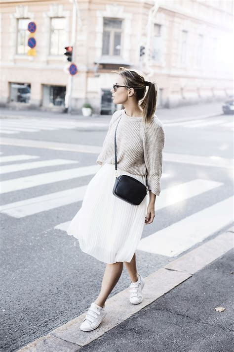katarina lilius zara skirt pleated skirt lookbook