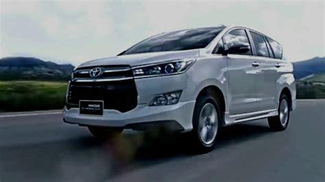 Toyota Innova 2019 2019 toyota innova crysta philippines india redesign