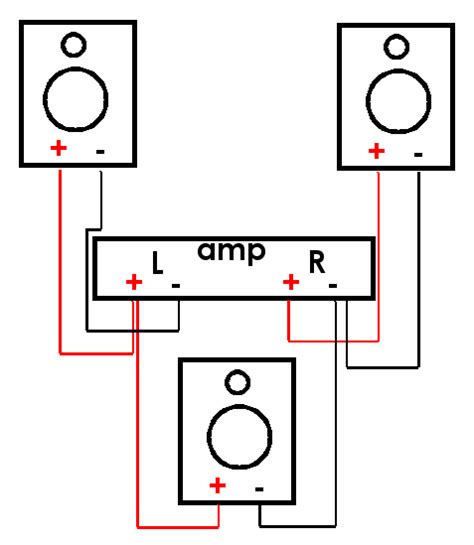 three speaker wiring diagram get free image about wiring