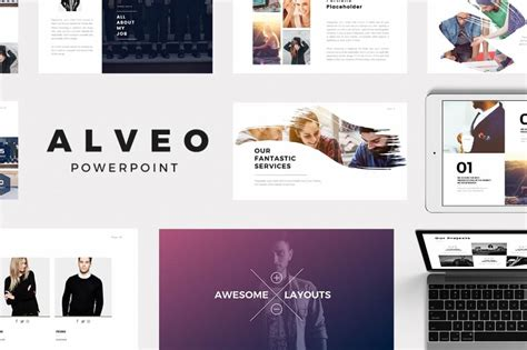 personal portfolio powerpoint and word template on behance