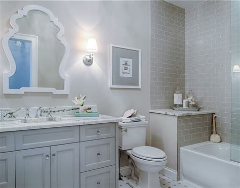 Grey Bathroom Ideas by Elegant Family Home With Neutral Interiors Home Bunch