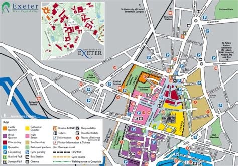 printable map exeter maps of exeter