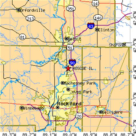 roscoe illinois il population data races housing