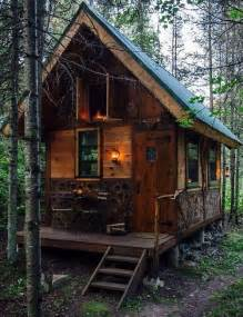 cabin in the woods on