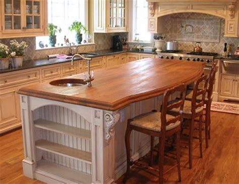 Wood Countertops Vs Granite Price by Solid Wood Countertops Wood Versus Granite Counter Top