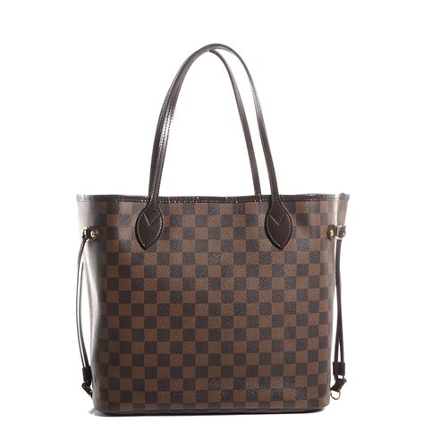 Neverfull Damiere louis vuitton damier ebene neverfull mm 83628
