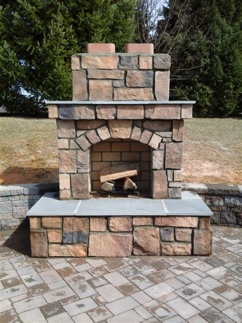 Outdoor Pits And Fireplaces by Outdoor Fireplaces Pits Mcp Chimney Masonry Inc