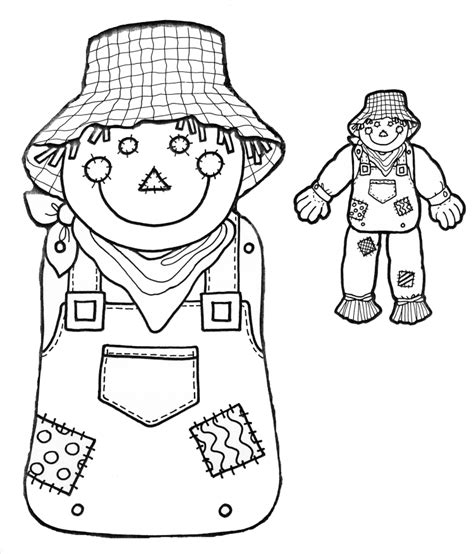 Free Printable Scarecrow Template aussie pumpkin patch mr scarecrow s birthday kid