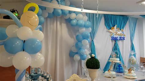 decoracion con globos bautizo ni 209 o restaurante sporting valencia azul eleyce eventos valencia como decorar para un bautizo como decorar para un bautizo decoracion tematica