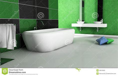 green bathroom furniture green bathroom contemporary design stock photos image 28918383