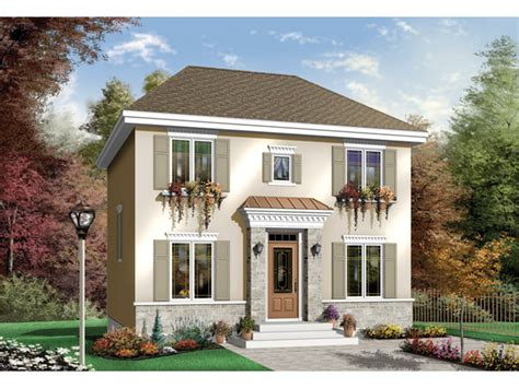 belden way georgian style home plan 032d 0277 house