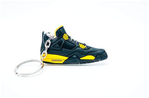 retro l yellow nike air jordan 4 retro black yellow kool keyringskool