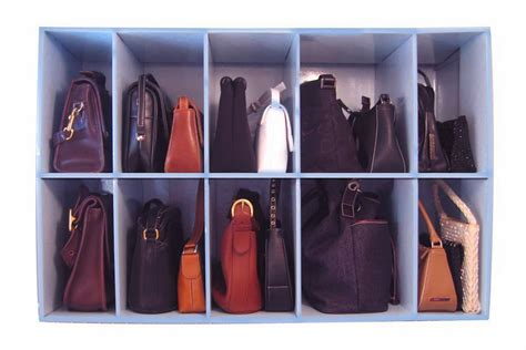 11 ways to organize your purse organizing made 11 - Purse Closet Organizer