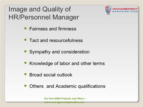 Scope Of Mba In Safety Management by Ppt On Introduction To Human Resource Management