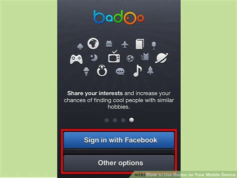 badoo mobile how to use badoo for mobile web