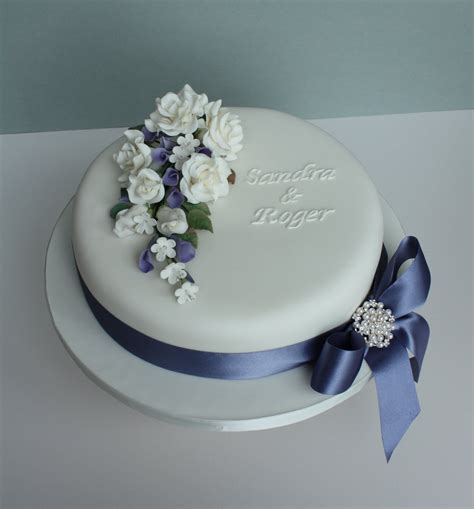 New Single Layer Wedding Cake Simple One Tier Cakes Google Search Cake Decorating