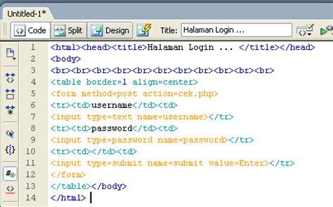 Membuat Form Login Logout Php | cumiiadjah membuat form login logout php