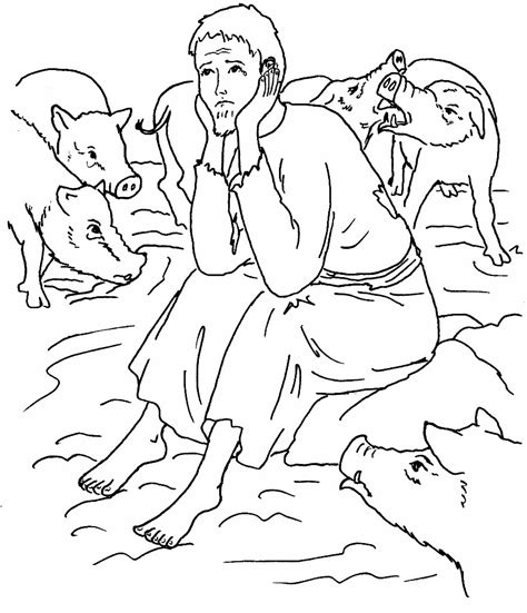 prodigal son coloring pages preschool prodigal son coloring kids coloring europe travel