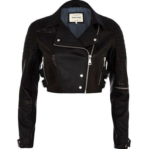 River Island Leather Cropped Jacket by 11 Best Images About Crop Jacket On Back To