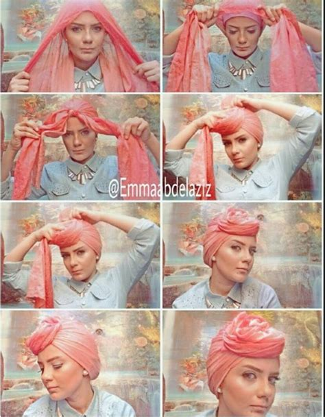 tutorial turban pesta 2015 tutorial hijab pesta simple just trendy girls